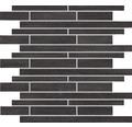 Feinsteinzeugmosaik Brickstones Anthrazit