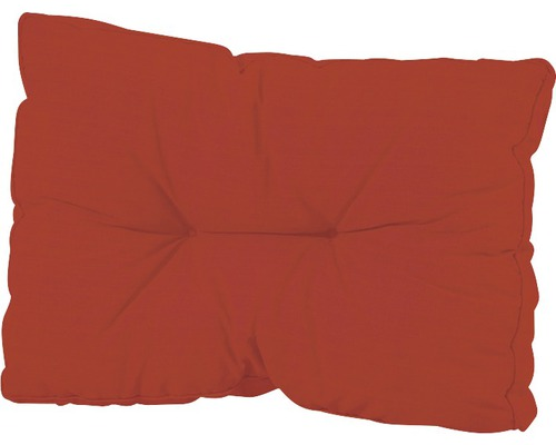 Palettenrückenkissen Basic 60x43 cm rot