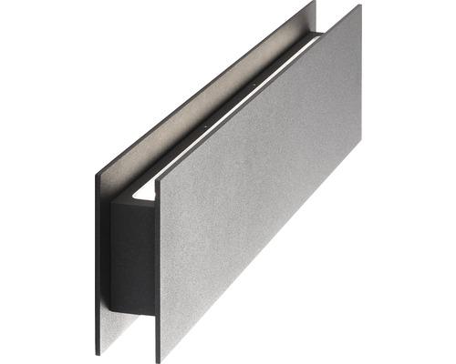 AEG LED Außenwandleuchte 1x8,4W oben 3x2,1W unten 504 lm 3000 K warmweiß Court anthrazit IP54 HxB 80/430 mm