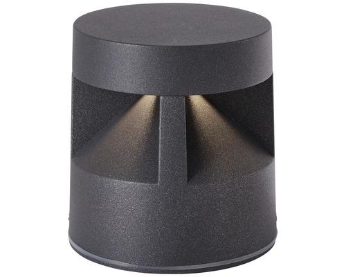 AEG LED Außensockelleuchte IP54 8,5W 700 lm 3000 K warmweiß Winslow anthrazit H 115 mm