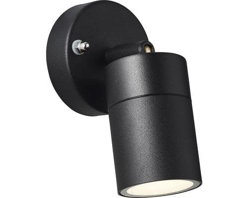 Außenwandspot IP44 1-flammig H 124 mm Jandy schwarz