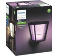 Philips hue LED Wandleuchte Econic White & Color Ambiance 15W 1150 lm schwarz H 301 mm Kompatibel mit SMART HOME by hornbach