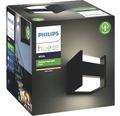 Philips hue LED Wandleuchte Fuzo White Ambiance 15W 1150 lm 2700 K warmweiß schwarz H 130 mm - Kompatibel mit SMART HOME by hornbach