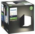 Philips hue LED Wandleuchte Fuzo White Ambiance 15W 1150 lm 2700 K warmweiß schwarz 130x140 mm - Kompatibel mit SMART HOME by hornbach