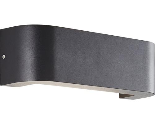 LED Außenwandleuchte IP54 10,5W 1000 lm 3000 K warmweiß HxTxB 90x80x300 mm Burty schwarz 1-flammig