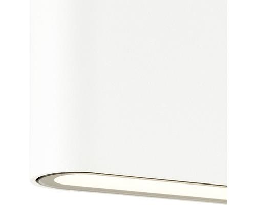 LED Außenwandleuchte 10W 800 lm 3000 K warmweiß H 115 mm Welbie weiß
