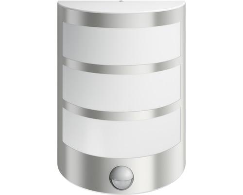LED Sensor Außenwandleuchte 1x6W 600 lm 2700 K warmweiß Python edelstahl