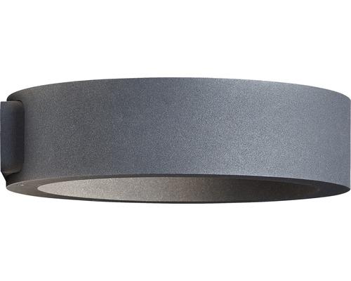 AEG LED Außenwandleuchte IP54 8W 720 lm 3000 K warmweiß Xever anthrazit 55x215 mm