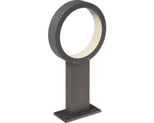 AEG LED Außenstehleuchte 11W 1265 lm 300 K warmweiß Xever anthrazit IP54 HxB 400/215 mm