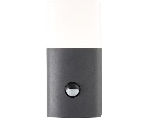 AEG LED Sensor Außenwandleuchte IP54 12,5W 1200 lm 3000 K warmweiß Farlay anthrazit/weiß 203x96 mm