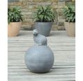 Dekokugel mit Hase Lafiora Terrakotta Ø 27 cm grau