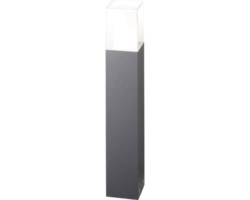 AEG LED Außenpodestleuchte 7,5W 690 lm 3000 K warmweiß Barbey anthrazit IP54 HxB 600/100 mm