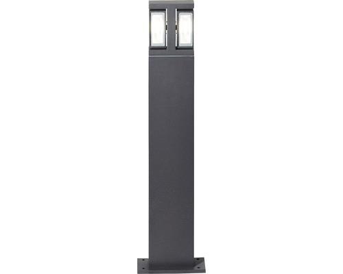 AEG LED Außenstandleuchte IP44 2x7W 700 lm 3000 K warmweiß Glynn anthrazit 600x150 mm schwenkbar
