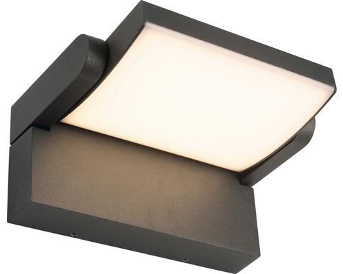 AEG LED Außenwandleuchte IP54 12,5W 1200 lm 3000 K warmweiß Grady anthrazit/weiß 100x207 mm schwenkbar