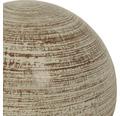 Dekokugel Lafiora Keramik Ø 23 cm weiß