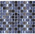Glasmosaik mit Naturstein XCM M862 (MATTE) 2,5x2,5 cm
