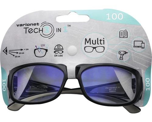 Varionet Tech 3in1 Brille +1,0 Dioptrien