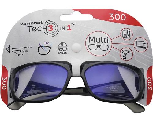 Varionet Tech 3in1 Brille +3,0 Dioptrien
