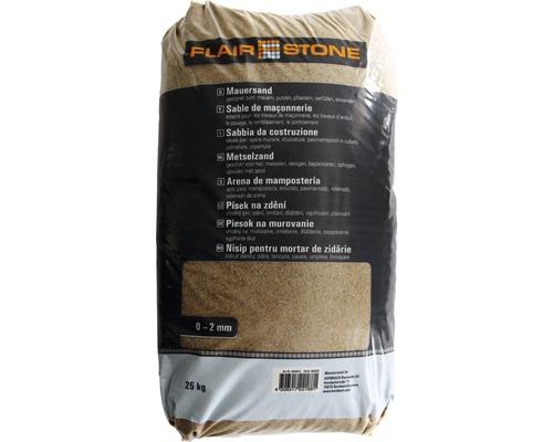 Mauersand 0-2 mm 25 kg