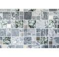 Glasmosaik mit Naturstein XCM MC609 grau 30x30 cm
