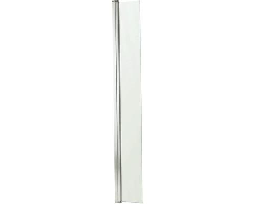 Seitenelement schwenkbar für Walk In Basano Modena 30 cm Klarglas