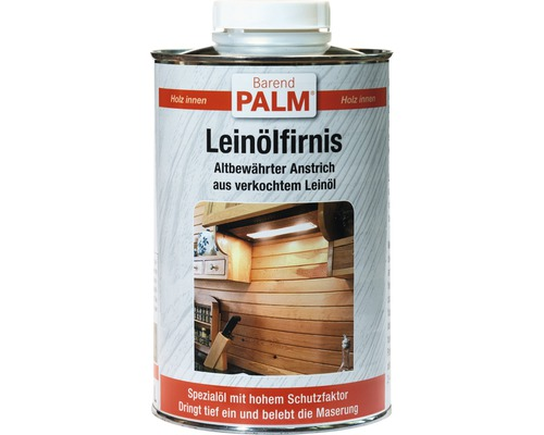 Leinoelfirnis Barend Palm transparent 1 l