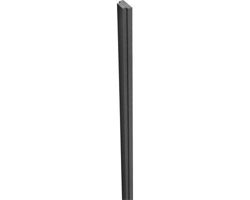 WPC Nutleiste Flex 2,9x1,5x300 cm anthrazit