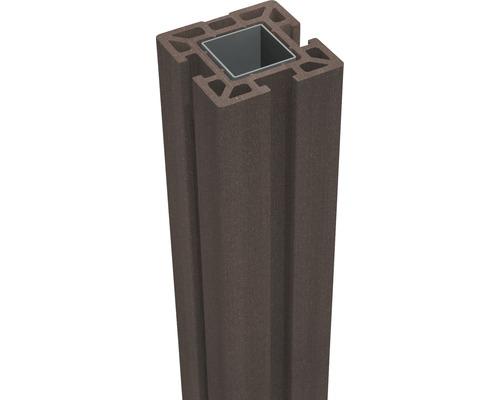 Pfosten GroJa Flex WPC zum Aufschrauben 10x10x100 cm terra