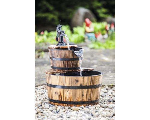 """Springbrunnen """"Wooden Barrels"""" 2 Eimer"""