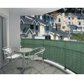 Balkonverkleidung 2500 x 100 cm, dunkelgrün