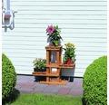 Blumenpodest 60x24x56 cm Holz honey
