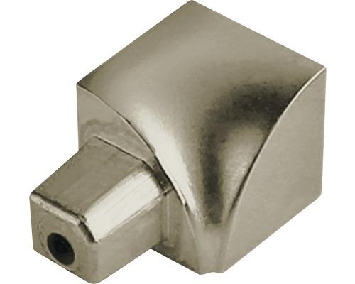 Innenecke Dural Durondell DRAE 100-T-YI 10 mm Aluminium Titan 2 Stück