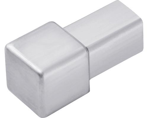 Aussen- und Innenecke Dural Squareline 12,5 mm Edelstahl 1 Stück