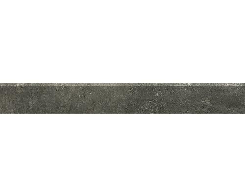 Sockel Hometec black lappato 7,5x60 cm