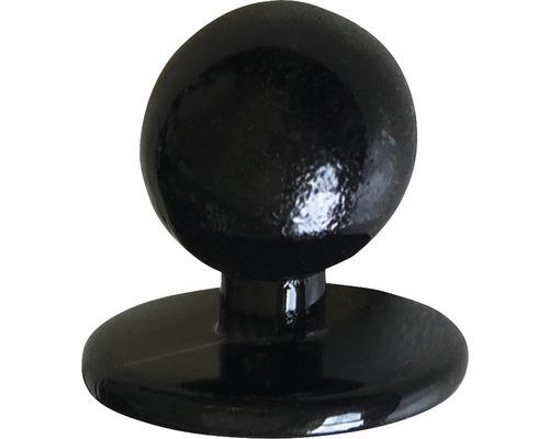 Kugelknöpfe schwarz