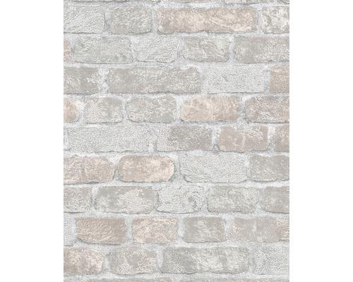 Vliestapete 58410 Brique Steine beige