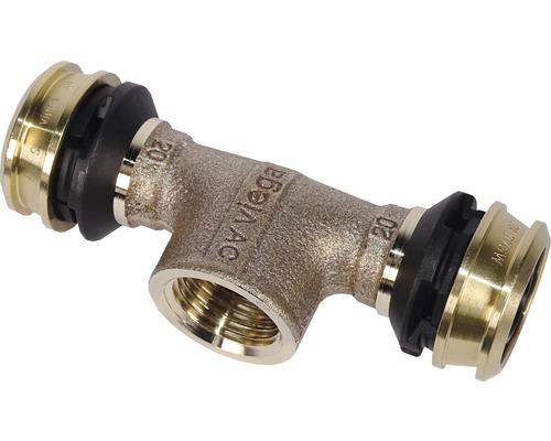 """Viega Raxofix T-Stück mit SC 20 x 1/2"""" x 20mm 647131"""