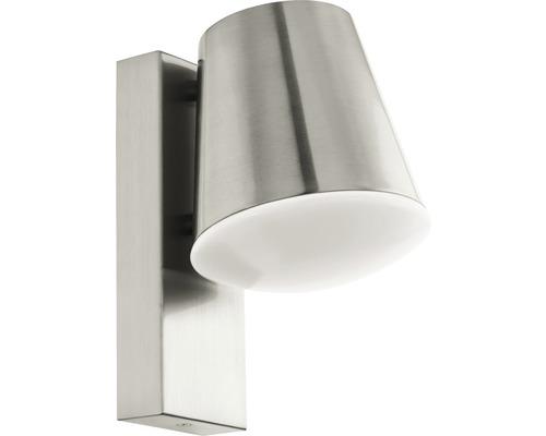 LED Außenwandleuchte IP44 9W 806 lm 3000 K warmweiß Caldiero Crosslink edelstahl H 240 mm