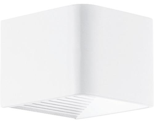 LED Außenwandleuchte 6W 600 lm 3000 K warmweiß Doninni weiß 135x120 mm IP44