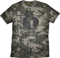 Uncle Sam T-Shirt Gr.3XL camouflage/schwarz