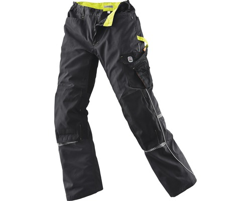 TX Workwear Bundhose Gr. 48 schwarz/lime