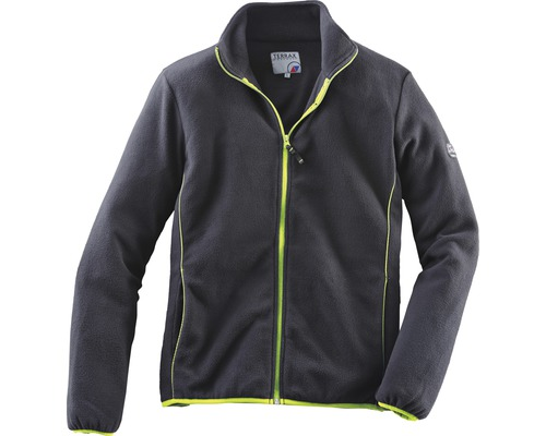 TX Workwear Fleecejacke Gr.4XL schwarz/lime
