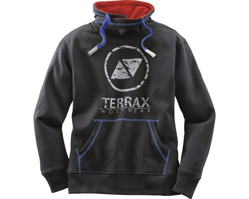 TX Workwear Sweatshirt Gr.S schwarz/royal