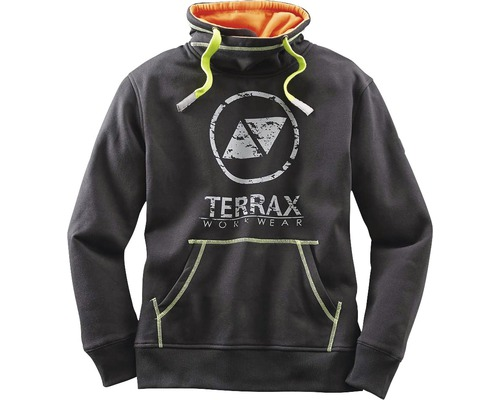 TX Workwear Sweatshirt Gr.4XL schwarz/lime