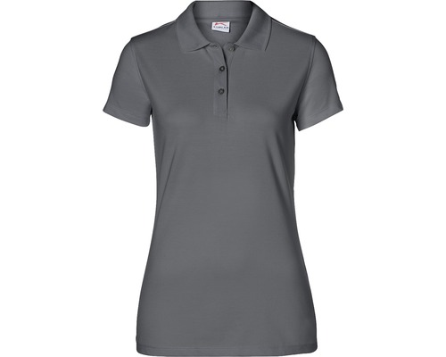 Kübler Shirts Polo Damen, anthrazit, Gr. XL