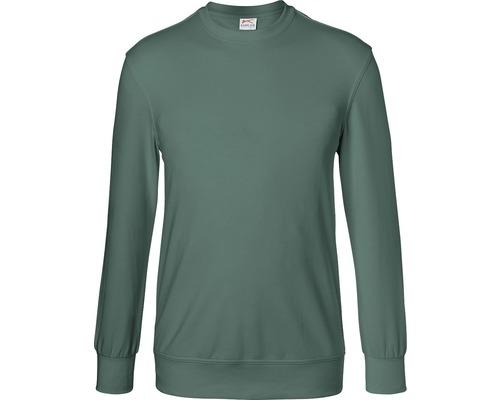 Kübler Shirts Sweatshirt, moosgrün, Gr. XS