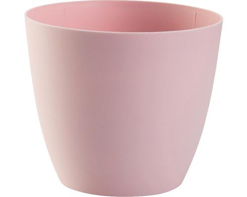 Blumentopf Ella gloss Kunststoff Ø 9 H 8 cm rosa