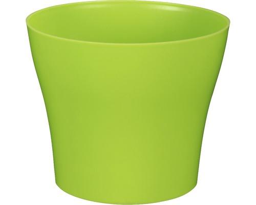 Blumentopf Tulipan gloss Kunststoff Ø 13 H 10,9 cm grün