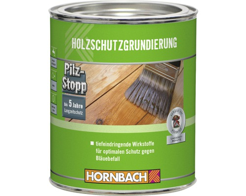 Holzschutzgrundierung außen 750 ml