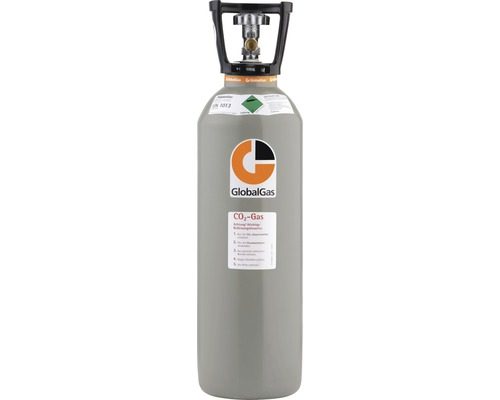 CO2 Kohlensäure Kohlendioxid E 290 T13 KFI GG 10 Food, 10KG Füllung